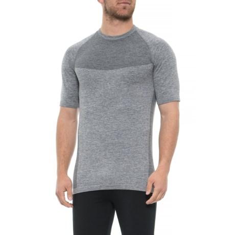 1e2b6cb563d7 Kyodan Seamless T-Shirt - Short Sleeve (For Men) in Dark Charcoal Melange