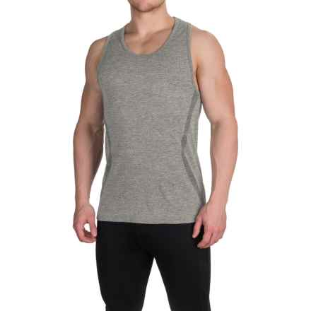 Kyodan Seamless Tank Top (For Men) in Charcoal Melange - Closeouts