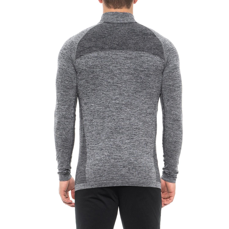 8354a51639a57 Kyodan Seamless Zip Neck Shirt - Long Sleeve (For Men)