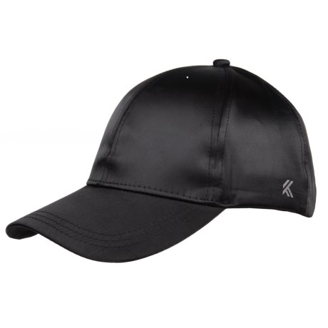 Kyodan Simple Athletic Baseball Cap (For Women) in Black