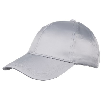 Kyodan Simple Athletic Baseball Cap (For Women) in Grey - Closeouts 5cc9dc03f072