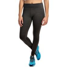 Kyodan Slimming Leggings - UPF 40+ (For Women) in Black Melange - Closeouts
