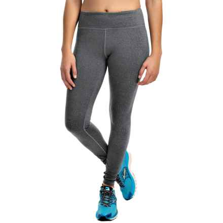 Kyodan Slimming Leggings - UPF 40+ (For Women) in Charcoal Melange - Closeouts
