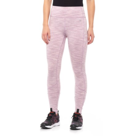 13289264680 Kyodan Space-Dyed Leggings (For Women) in Mauve Space Dye - Closeouts
