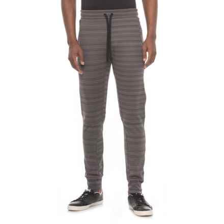 Kyodan Striped Fleece Pants (For Men) in Charcoal Stripe - Closeouts