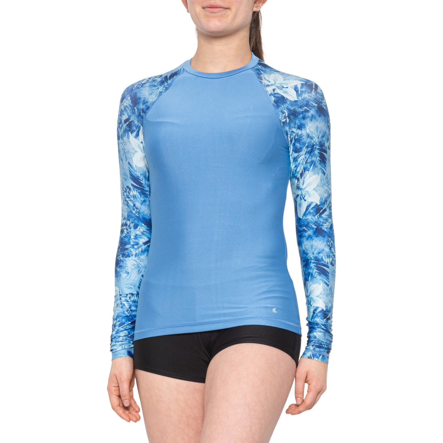 Womens UPF40 Long Sleeve UV Sun Protection Shirts Quick Dry Swim Outdoor T-Shirt for Fishing Running