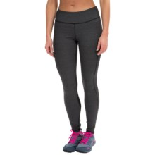 Kyodan Technical Running Tights (For Women) in Black Melange - Closeouts