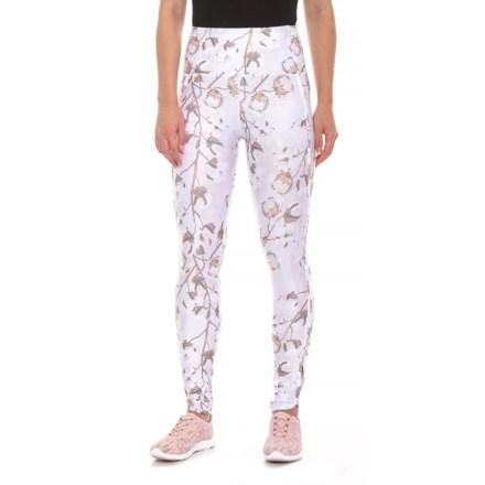 da072529d36 Kyodan Tulip Hem Printed Leggings - High Waist (For Women) in Cotton  Blossom -