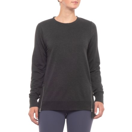 3c1cfd430d0 Kyodan Tunic Shirt - Long Sleeve (For Women) in Black Mix - Closeouts