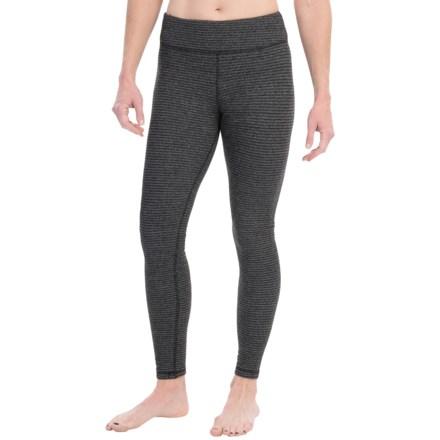 Kyodan Warmhand Loose-Fit Leggings (For Women) in Black Stripe - Closeouts 9336f94b2e5b2