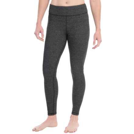 Kyodan Warmhand Loose-Fit Leggings (For Women) in Black Stripe - Closeouts