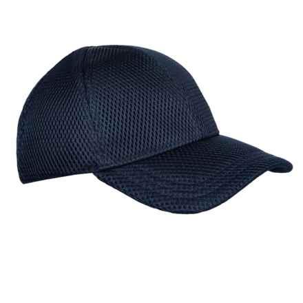 Kyodan Woven Athletic Baseball Cap (For Women) in Navy - Closeouts 87e7c1411df2