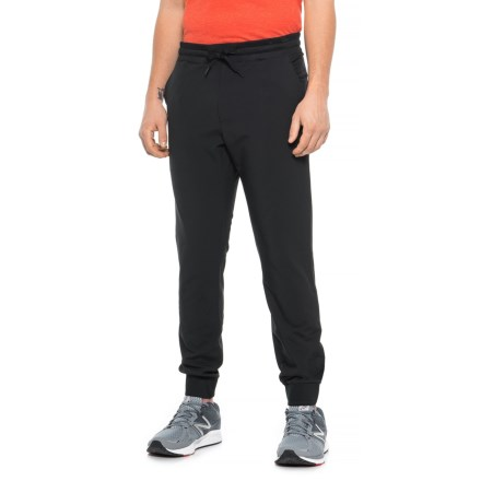 Kyodan Woven Yoga Joggers (For Men) in Black - Closeouts c8694d1d5322f