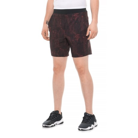 43462f1331aeb Kyodan Yoga Shorts (For Men) in Red Print
