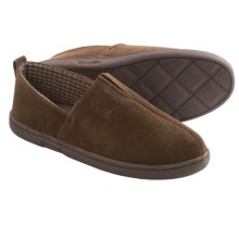 L. B. Evans Everett Suede Slippers (For Men) in Chocolate - Closeouts