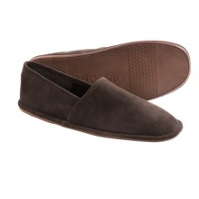 L. B. Evans Lars Suede Slippers (For Men) in Chocolate Suede - Closeouts