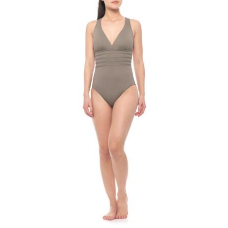 35f2ba90389e8 La Blanca Island Fare Cross-Back One-Piece Swimsuit (For Women) in