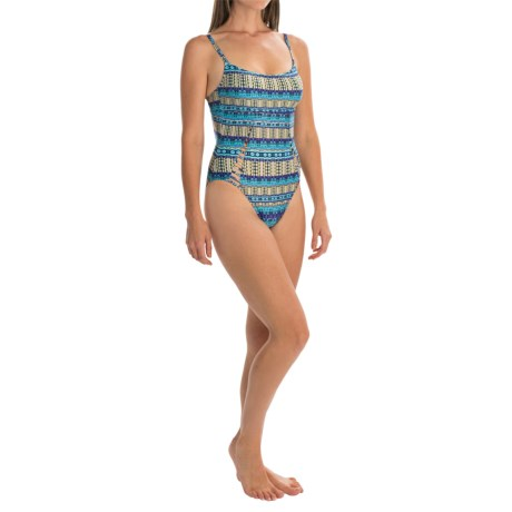 La Blanca Peekaboo Mio One-Piece Swimsuit - Underwire