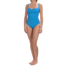 La Blanca Sweetheart Mio One-Piece Swimsuit (For Women) in Bright Blue - Closeouts