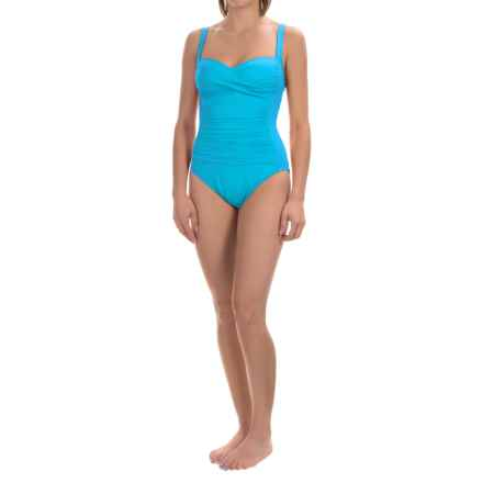 La Blanca Sweetheart Mio One-Piece Swimsuit (For Women) in Pacific Blue - Closeouts