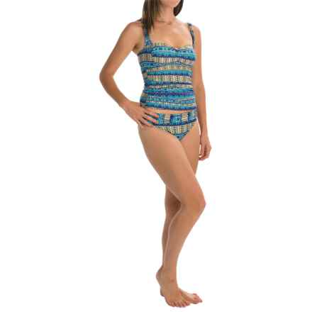 La Blanca Sweetheart Tankini Set - Hipster Bottoms (For Women) in Marrakesh - Closeouts