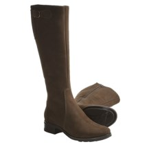 La Canadienne Angie Boots - Nubuck (For Women) in Chocolate Nubuck - Closeouts