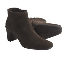 La Canadienne Dixon Ankle Boots - Suede (For Women) in Brown Suede - Closeouts