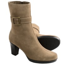 La Canadienne Katie Buckle Boots (For Women) in Terra Suede - Closeouts
