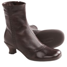 La Canadienne Tali Winter Ankle Boots (For Women) in Brown Leather - Closeouts