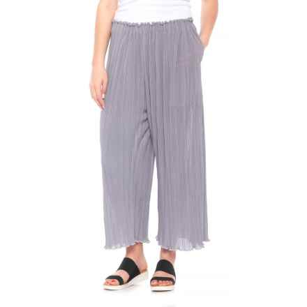 La Causa Mika Pants (For Women) in Fog - Closeouts