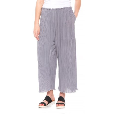 La Causa Mika Pants (For Women) in Fog