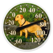 "La Crosse Technology 13.5"" Dog Thermometer with Key Hider in See Photo - Overstock"