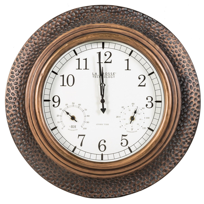 La crosse technology 22 atomic wall clock save 33 la crosse technology 22 atomic wall clock in copper amipublicfo Images