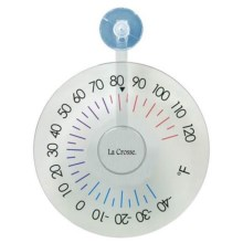 La Crosse Technology Hanging Temperature Dial in See Photo - Closeouts