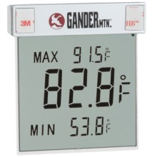 La Crosse Technology Outdoor Window Thermometer in Aluminum - Overstock