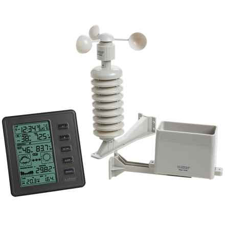 La Crosse Technology Professional Weather Station in Anthracite/Black - Closeouts