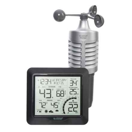 La Crosse Technology Professional Wind Speed Weather Station in Black - Closeouts