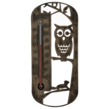 La Crosse Technology Silhouette Thermometer - Assorted Animal Designs in Owl - Overstock