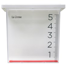 La Crosse Technology Waterfall Rain Gauge in See Photo - Closeouts