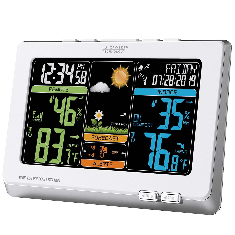 la crosse technology wireless color weather forecast station save 46. Black Bedroom Furniture Sets. Home Design Ideas