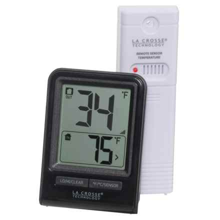 La Crosse Technology Wireless Thermometer in White - Closeouts