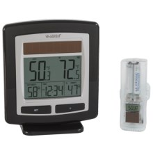 La Crosse Technology Wireless Weather Station and Sensor - Solar Powered in Aluminum - Overstock
