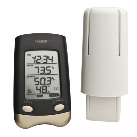 La Crosse Technology Wireless Weather Station in See Photo