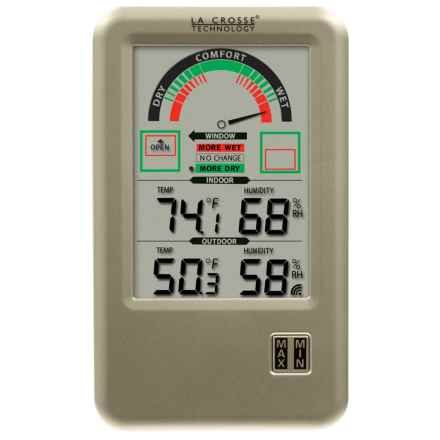 La Crosse Technology Wireless Weather Station in Silver - Closeouts
