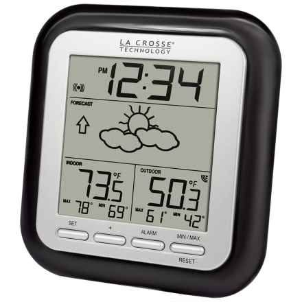 La Crosse Technology Wireless Weather Station with Forecast in Black - Closeouts