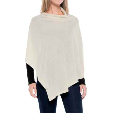 La Fiorentina Cashmere Wrap (For Women) in Ivory - Closeouts