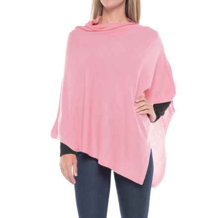 La Fiorentina Cashmere Wrap (For Women) in Light Pink - Closeouts