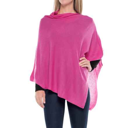 La Fiorentina Cashmere Wrap (For Women) in Rose - Closeouts