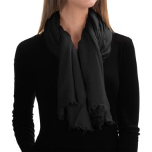 "La Fiorentina Italian Collection Scarf - 52x74"" (For Women) in Black - Closeouts"