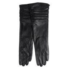 La Fiorentina Sheep Leather Gloves (For Women) in Black - Closeouts